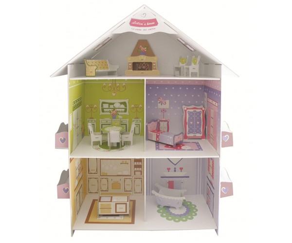 Gioco in cartone la casa di lilia - Casa di cartone ...