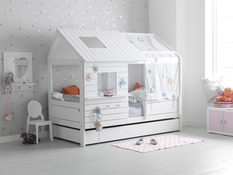 Letto Silversparkle bianco – Babymama