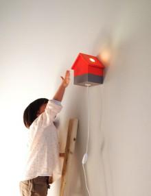 lampada cameretta legno