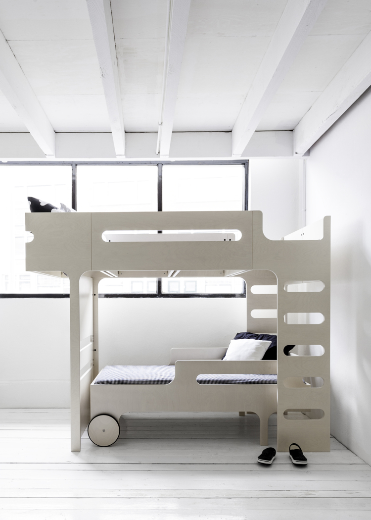 letto per 2 bambini soppalco lettino materassi. Black Bedroom Furniture Sets. Home Design Ideas