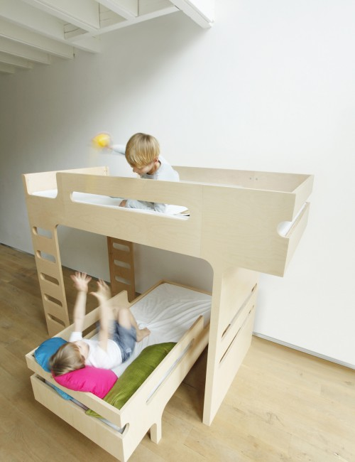 Letto per 2 bambini soppalco lettino materassi babymama - Letto soppalco per bambini ...