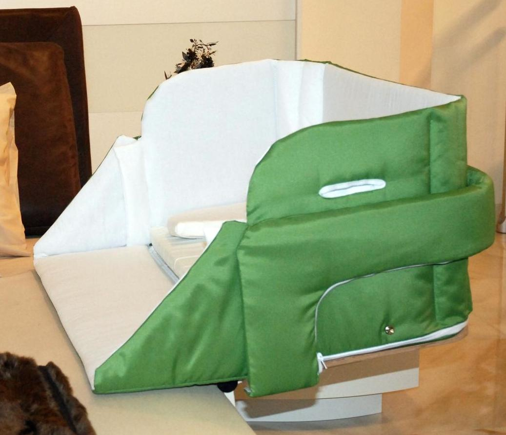 Culla belly co sleeper verde bosco - Culla neonato da attaccare al letto ...