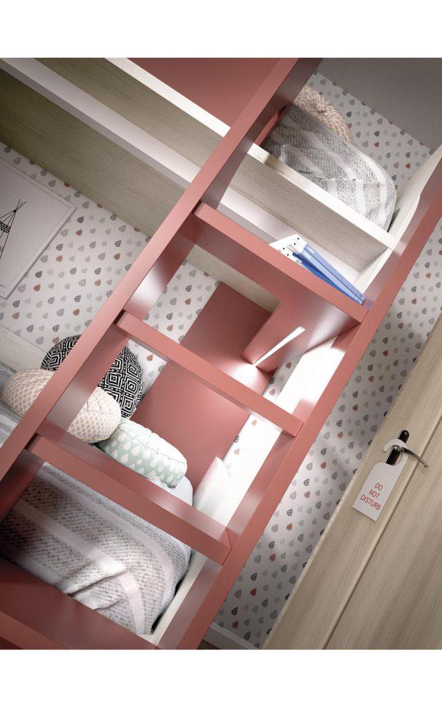 Composizione con letto a castello: H301 - Babymama